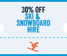 30% Off Ski Hire in El Tarter