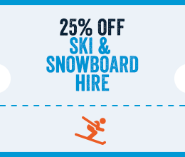 25% Off Ski Hire in Soldeu